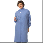 Superior Uniform Group 496 496-Unisex Ciel T Shield Lab Coat Snaps TG