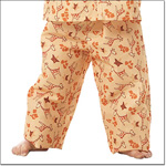 Superior Uniform Group 5510 Child G-raff Yellow Pajama Pants