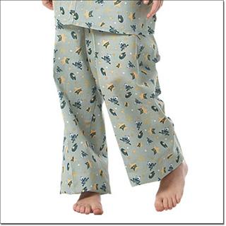 Superior Uniform Group 5512 Child Frog-e Green Pajama Pants