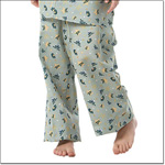 Superior Uniform Group 5512 Child Frog-E Green  PJ Pants