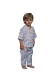 Superior Uniform Group 5514 Child Ted-E White PJ Pant