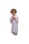 Superior Uniform Group 5516 Child Ted-E White ICU Gown