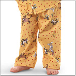 Superior Uniform Group 5574 Child Cartoon Yellow Pajama Pants