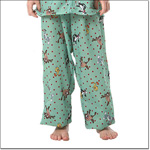 Superior Uniform Group 5576 Child Cartoon Green  PJ Pants