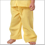 Superior Uniform Group 5674 Child Yellow Pajama Pants