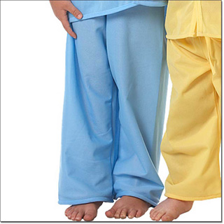Superior Uniform Group 5675 Child Blue Pajama Pants