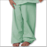 Superior Uniform Group 5676 Child Green Pajama Pants