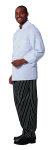 Superior Uniform Group 60120 Unisex White FLT LS Chef Coat/Mesh Back