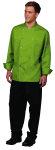 Superior Uniform Group 60123 Unisex Basil Poly/Rec Poly/Ctn Chef Coat