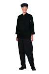 Superior Uniform Group 60133 Ladies Black Twl Chef Coat