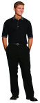 Superior Uniform Group 60169 Mens Onyx SS Tech Knit Shirt
