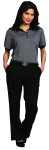 Superior Uniform Group 60170 Ladies Gravel SS Tech Knit Shirt