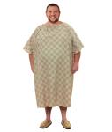 Superior Uniform Group 607 Tan Striate Magna ICU IV Gown