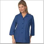 Superior Uniform Group 61010 Ladies Royal Blue POP Traditional Smock