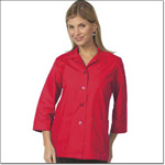 Superior Uniform Group 61016 Ladies Poppy Red POP Traditional Smock