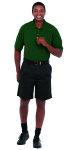 Superior Uniform Group 61446 Unisex Evergreen UltraMax SS Knit Shirt