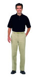 Superior Uniform Group 61449 Unisex Black UltraMax SS Knit Shirt
