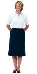 Superior Uniform Group 61468 Ldy White UltraMax 2Btn SS Knit Shirt
