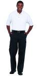 Superior Uniform Group 61569 Unisex White UltraMax SS Knit Shirt/Pocket