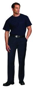 Superior Uniform Group 61587 Unisex Navy Blue 100C SS T-Shirt