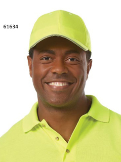 Superior Uniform Group 61634 Unisex Hi Visibility Yellow Cap