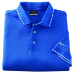 Superior Uniform Group 61674 Mens Pac Blu 100P SS Knit Shirt (319966)