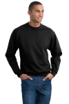 Superior Uniform Group 61748 322 Unisex Black P/C Sweatshirt