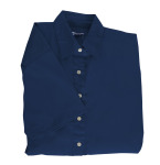 Superior Uniform Group 61779 391/BG6216S Ldy Navy P/C POP SS Shirt
