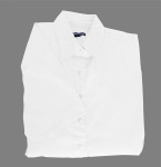 Superior Uniform Group 61782 391/BG6216S Ldy White P/C POP SS Shirt