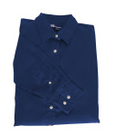 Superior Uniform Group 61790 392/BG6216 Ldy Navy P/C POP LS Shirt