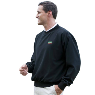 Superior Uniform Group 62074 376 Unisex Navy Microfbr Lined Windshirt