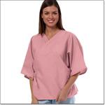 Superior Uniform Group 620 Ladies Mauve Mammography Exam Jacket