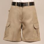 Superior Uniform Group 62286 Ladies New Khaki P/C Twl Cargo Shorts