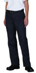 Superior Uniform Group 62354 Ldy Dickies Char Flat Frt Pant (FP322)