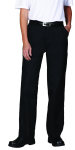 Superior Uniform Group 62361 F Dickies Black FlatFrt Prem Pant(FP331)