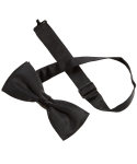 Superior Uniform Group 63719 Black Banded Bow Tie
