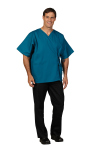Superior Uniform Group 638 Unisex Dark Teal FP Exam Jacket
