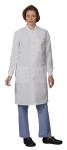 Superior Uniform Group 6407 Unisex Wht T-Shld D Lab Coat/Snaps/Cuffs