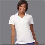 Superior Uniform Group 64514 Ladies White MM Short Sleeves Shirt
