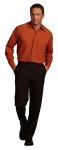 Superior Uniform Group 64715 Unisex All-Spice 100P LS Metro Shirt