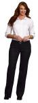 Superior Uniform Group 64734 Ladies White F/L Twl 3/4 Sleeve Shirt