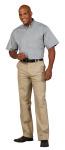 Superior Uniform Group 64742 Mens Silverstone F/L Twl SS Shirt