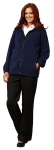 Superior Uniform Group 65517 Unisex Navy Poly Fleece Jacket
