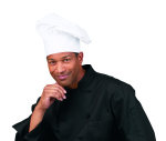 Superior Uniform Group 67013 White Medium Crown Chef Hat