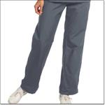 Superior Uniform Group 7091 Ladies Pewter FP Drawcord Flair Slack-petite