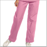 Superior Uniform Group 7092 Ladies Pretty Pink FP Flair Slack-petite