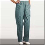 Superior Uniform Group 7443 Ladies FP Sage Fashion Slacks/Pockets