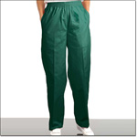 Superior Uniform Group 7451 Ladies FP Fir Green Fashion Slacks/Pkts