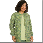 Superior Uniform Group 7791 Ladies FP Vintage Green Warm Up
