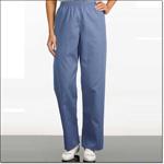 Superior Uniform Group 7806 Unisex FP Ciel Reversible Elastic Scrub Pants